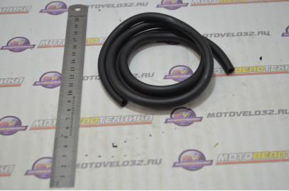 Шланг бензиновый 4,5х8,5, 1м, силиконовый (черный)