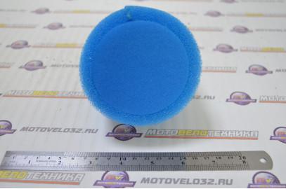 Фильтр воздушный нулевого сопротивления #2 (d=38mm) поролон синий