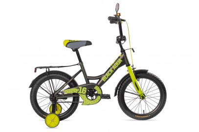 """Велосипед BLACK AQUA  Fishka 18"""" со светящ.колесами"""