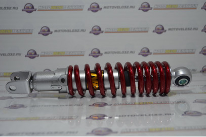 Амортизатор задний 270мм Suzuki регулируемый, красный