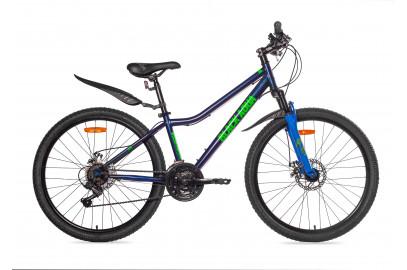 "Велосипед BLACK AQUA  Cross 1651 D 26"""