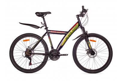 "Велосипед BLACK AQUA  Cross 1681 D 26"""