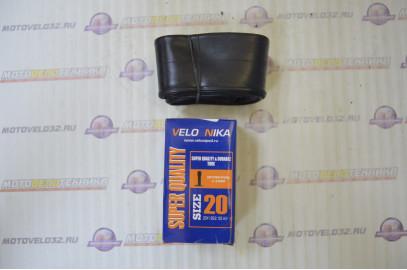 """Велосипедная камера 20"""" (20х1.95/2,125) в коробке"""