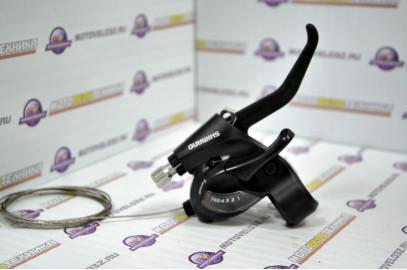 Ручка переключения передач, Правая, TOURNEY, Комбинированная, 7 ск.,ST-EF41-7R,