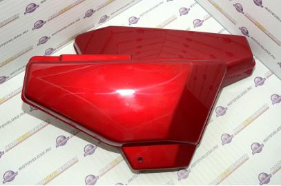 Щиток обл. боковой Мопед Orion Alpha комплект красный