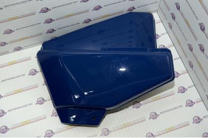 Щиток обл. боковой Мопед Orion Alpha комплект синий