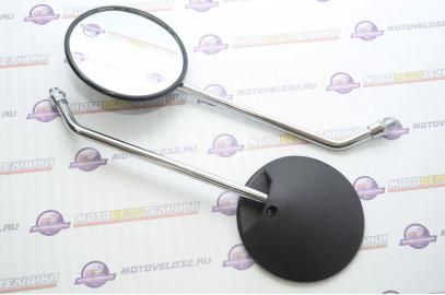 Комплект зеркал заднего вида DELTA (мопед) круглые М10 SM