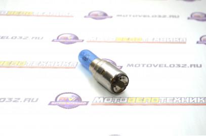 Лампа 12V35/35W 20d с улучшенным фокусом галоген синяя SM