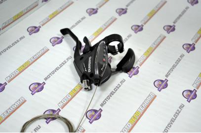 Ручка переключения передач, Правая, ST-EF51-AR, TOURNEY, Комбинированная, 7ск.,
