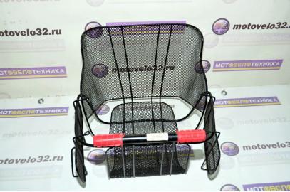 Сиденье на багажник для детей корзина