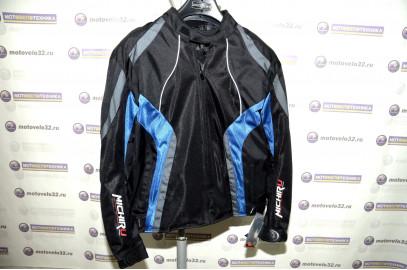 Куртка мотоциклетная (текстиль) Summer Metropolis черно-синий XXL MICHIRU