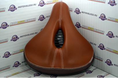 Седло дорожное полиуретан.коричневое SADDLE