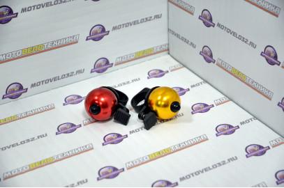 Велозвонок алюминий цветной тип2