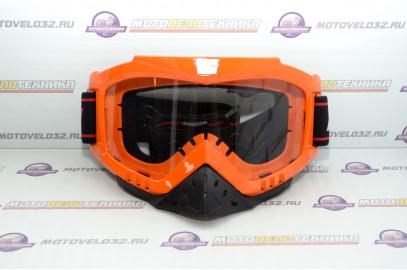 Очки кроссовые MICHIRU G850 Orange