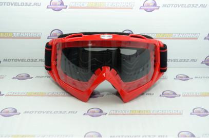 Очки кроссовые MICHIRU G970 Red