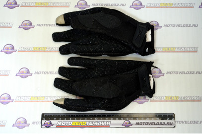 Перчатки V005 black L