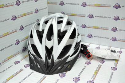 Велошлем TW KACAMI M/L белый 26 вет.отв.