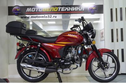 Мопед Alpha Sport 50cc R17 кофр