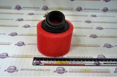 Фильтр воздушный нулевого сопротивления #2 (d=35mm) поролон красный