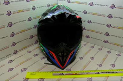 Шлем кросс HIZER 211 (S) (подростковый)