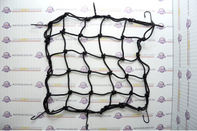 Сетка крепежная на багажник 30х30 см