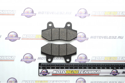 Колодки тормозные передние диск Nir-na TTR250 D200 без уха