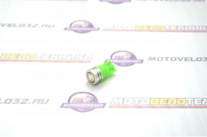 Лампа габарит SMD без цоколя зеленый