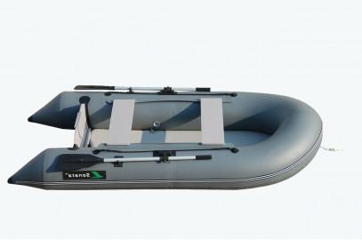 Надувная лодка Sonata 285 F (Р)серая прямая