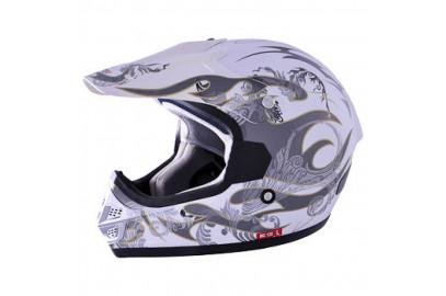 Шлем кросс MC 110 синий тип 24