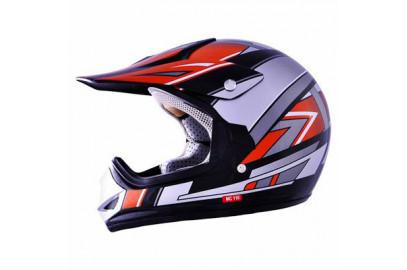 Шлем кросс MC 110 черный тип 25