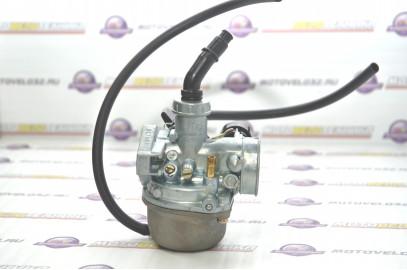Карбюратор 4Т Мопед ALPHA Orion 110-125см3  круглый поддон K&F