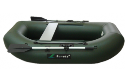 Надувная лодка Sonata 220 зеленая