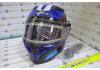 Шлем с подогревом Kioshi интеграл
