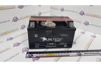 Аккумулятор 12V 7Ah SILTECH + электр. (154х150х101) широкий