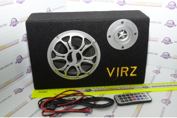 Аудиосистема для мототехники прямоугольная