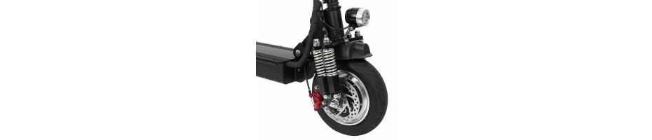 Подвеска и управление скутеров