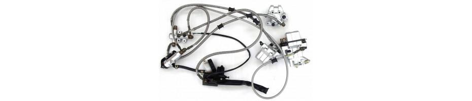 Тормозная система для квадроцикла